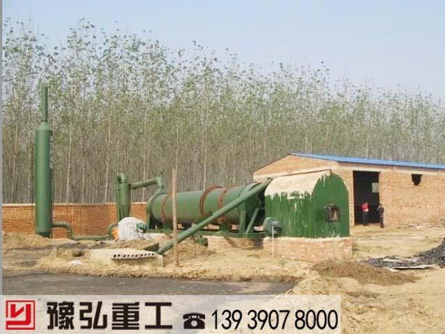 鸡粪干燥设备在使用时热风炉冒黑烟是怎么回事